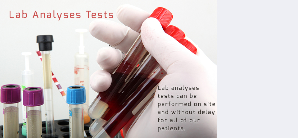 Lab Analyses Tests